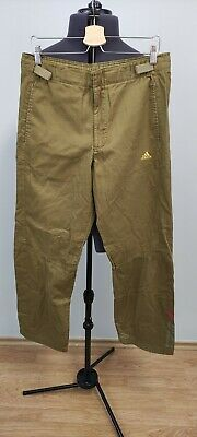 $13.96 • Buy Adidas Vintage VTG 2001 Mens Military Style Cargo Trousers Brown 32x32 W32 32L