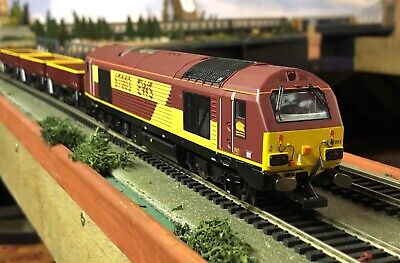 £115 • Buy Hornby R3399 EWS Freight Train Pack Ltd Edition Immaculate Mint Suits Bachmann