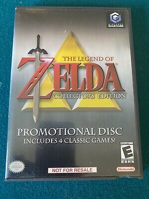 £33.17 • Buy Used Legend Of Zelda Collector's Edition (Nintendo GameCube) W/ Case And Manual