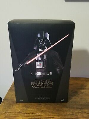 $ CDN124.63 • Buy Hot Toys Star Wars: A New Hope MMS279 Darth Vader 1/6th Scale Collectible Figure