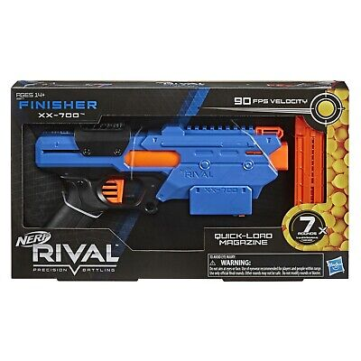 AU54.95 • Buy **Genuine** Nerf Rival Finisher XX-700, Includes 7 Rounds
