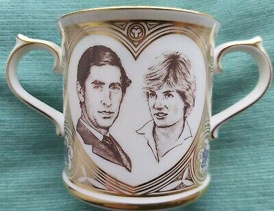 £5 • Buy 1981 CHARLES AND DIANA MARRIAGE WEDDING LOVING CUP Royal Doulton LIMITED EDITION