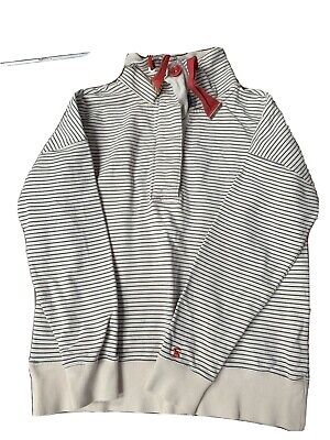 £1.50 • Buy Joules  Cream Striped Top 12