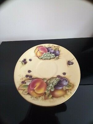 £20 • Buy Lonely Aynsley 'orchard Gold' Saucer Looking For A Mate (teacup)