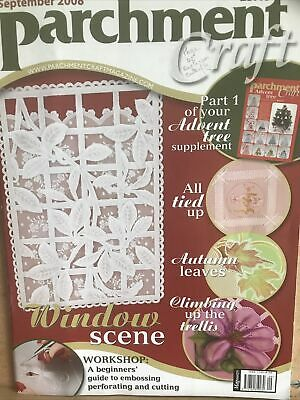 £1.85 • Buy Parchment Craft Magazine Part One Of Advent Tree .  September 2008