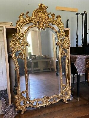 £3950 • Buy Antique Early 19C Regency Giltwood Mirror With Bevelled Plate