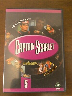 £2.99 • Buy Captain Scarlet And The Mysterons - Vol. 5 - 8 Episodes DVD.