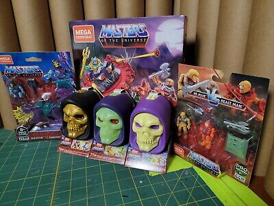 $10.50 • Buy Mega Construx Masters Of The Universe Lot. 6 Items All Unopened!