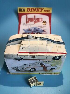 £6.50 • Buy Dinky Toys Vintage 105 Captain Scarlet Maximum Security Vehicle Boxed Rare