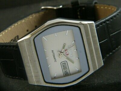 $ CDN1.71 • Buy OLD VINTAGE SEIKO 5 AUTOMATIC JAPAN MENS DAY/DATE WATCH 426e-a213381-2