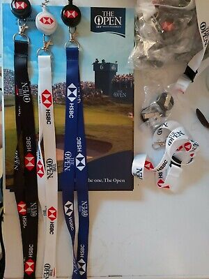£2 • Buy The Open 149th Royal St George Offical Lanyard