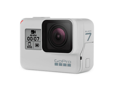 $ CDN346.20 • Buy GoPRO HERO7 BLACK 4K DUSK WHITE PLUS ACCESSORIES AND CARRY BAG. HARDLY USED.