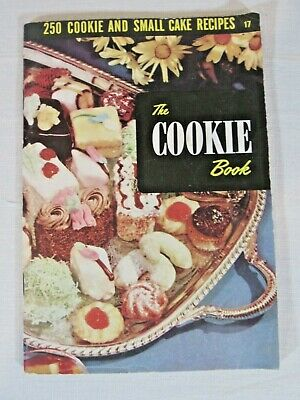 £8.62 • Buy Vintage Culinary Arts Institute The Cookie Book Cookbook 1950's Housewife