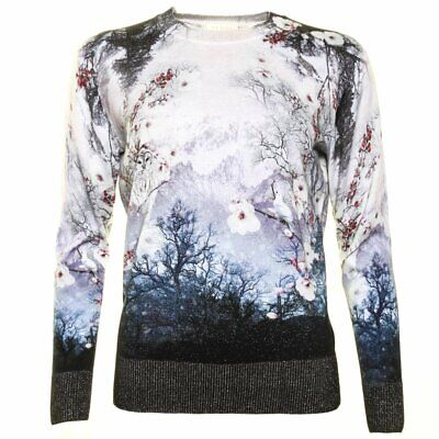 £119.99 • Buy TED BAKER Misty Mountains Print Owl Bird Blossom Floral Jumper Sweater Top 2 10