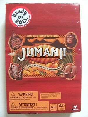 AU20 • Buy Jumanji The Game Fast Paced Game Cardinal 2019 - Complete