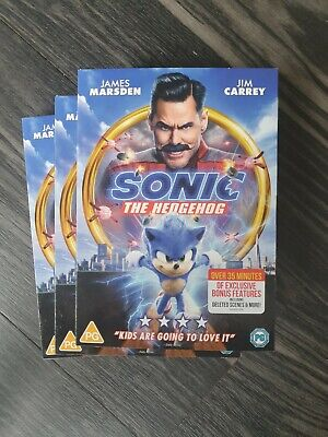 £7.25 • Buy Sonic The Hedgehog [2020] (DVD) NEW SEALED