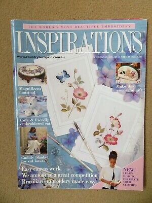 £5 • Buy Inspirations Embroidery Magazine - Issue 30