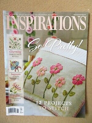 £5 • Buy Inspirations Embroidery Magazine - Issue 98