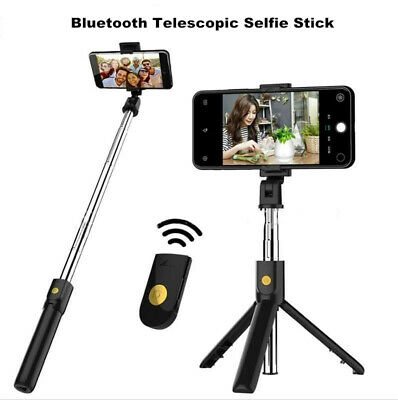 £7.55 • Buy 3 In 1 Bluetooth Selfie Stick Phone Tripod Extendable Monopod With Controller