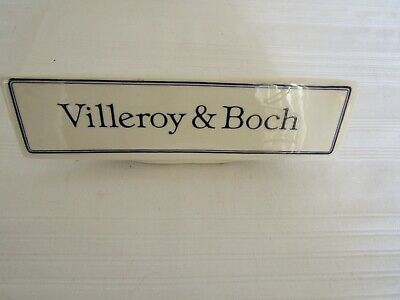 £12 • Buy Villeroy & Boch Advertising Name Stand Porcelain/China Displayed Only