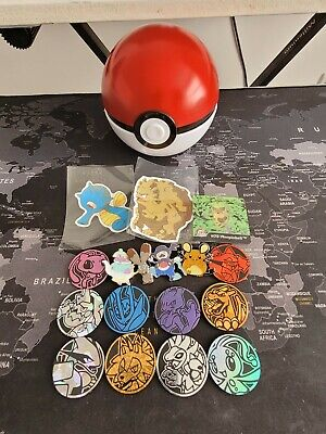 £3 • Buy Pokemon Coins, Pins, Stickers And Pokeball. Includes Charizard Coin!
