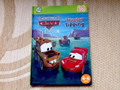 £2.99 • Buy Leapfrog Tag Book. Disney's Cars,  Mc Queen Adventure/Tractor/ CLEARANCE