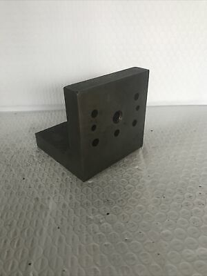 $8.15 • Buy MACHINIST LATHE TOOL MILL Precision Tool Makers Angle Block Fixture 4x4x4