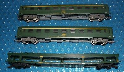AU19.99 • Buy Jouef HO / OO SNCF 2 X Passenger Carriages Class 1 + Car Carrier .