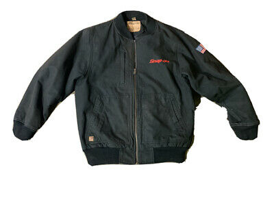$ CDN75.22 • Buy Snap On Tools Men's Canvas Quilted Lined Jacket Size Large