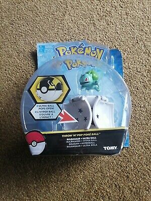 £9.99 • Buy Pokemon TOMY Throw 'N' Pop Poké Ball, Squirtle And Figure Toy Brand New