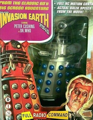 £250 • Buy Dr Doctor Who 12  Radio Controlled Movie Dalek SILVER Product Enterprise
