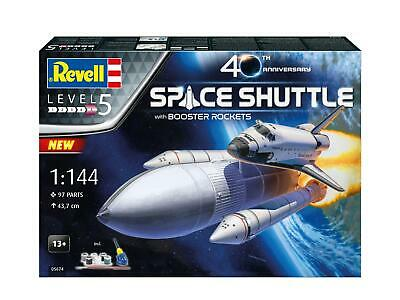 £52.99 • Buy Revell 05674 Space Shuttle & Boosters 40th Anniversary Gift Set 1/144 Scale