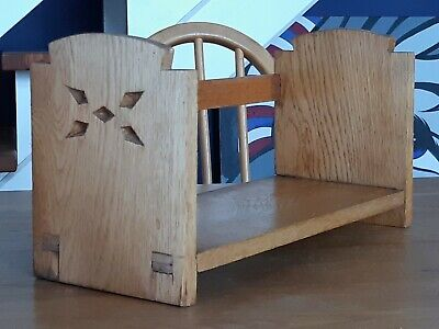 £35 • Buy Solid Light Oak Wooden Arts & Crafts Book Trough Stand