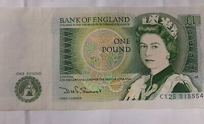 £1.79 • Buy SIR ISAAC NEWTON ONE POUND NOTE Signed Somerset CX25918854 UNCIRCULATED