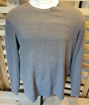 $15.99 • Buy MICHAEL KORS BROWN Pullover Sweater CABLE KNIT  Mens XXL Wool Cashmere! EUC!