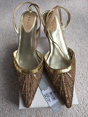 £10 • Buy Debut Bronze/Gold Shoes Size Uk:8 EU:41 Bridesmaid / Occasion Shoes. Worn Once