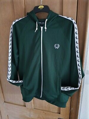 £22 • Buy     Fred Perry Sport Hoodie Size L Green.