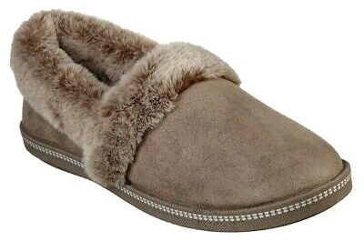 £39.99 • Buy New Womens Skechers Cosy Campfire Slippers Taupe Size UK 7