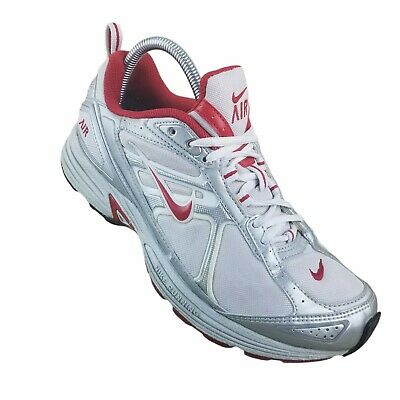 $ CDN34.59 • Buy Nike Womens Air Structure Triax 050305 White Red Running Shoes Lace Up Size 10