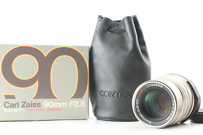 $ CDN348.50 • Buy [Top Mint Boxed] Contax Carl Zeiss Sonnar 90mm F2.8 T* Lens For G1 G2 From Japan