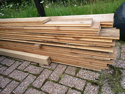 £100 • Buy 31 Reclaimed Tongue And Groove Wooden Boards, 112mm (4.5 ) X 22mm X 3.25m Long