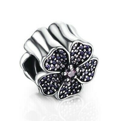£12.50 • Buy Pandora-LIGHT PINK CRYSTAL DAISY-STERLING SILVER 925-CHARM+ POUCH CPAN62 CPAN130