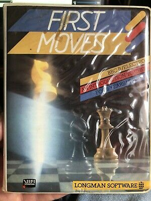 £1.99 • Buy First Moves Chess BBC Micro & Acorn Electron - Cassette By Longman Software