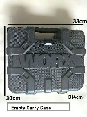 £15.97 • Buy Carry CASE ONLY For WORX WX312.1 Drill Storage Box Tool Organiser EMPTY Tidy