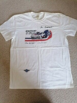 £12 • Buy X2 Official Triumph TR7 Rally T-Shirts Signed