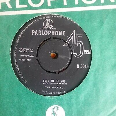 £2.99 • Buy BEATLES 45 - FROM ME TO YOU  / THANK YOU GIRL - PARLOPHONE 1st Pressing 1963 VG,