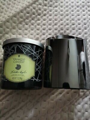 £15 • Buy Yankee Candle Forbidden Apple Tumbler 198g And Holder (black)