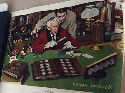 $ CDN31.21 • Buy Norman Rockwell Limited Edition Franklin Mint  The Collector  Canvas Print 1973