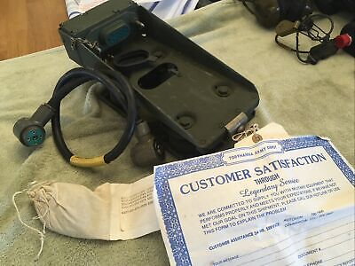 $125 • Buy Nos Military Radio Mt-1898 R-442 Receiver Unissued W/ Cx4721 Cable + Hardware