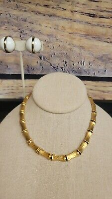 $1.99 • Buy Designer Signed Monet Necklace & Sarah Coventry Clip On Earrings